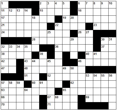 TTS, teka-teki silang