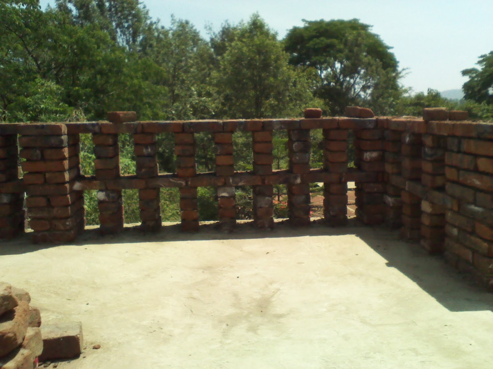 Alternative Building Construction Brick Railings