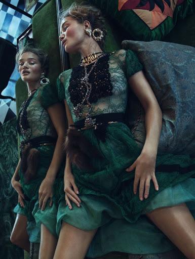 Rosie Huntington-Whiteley – Vogue Magazine Korea November 2015 Photos