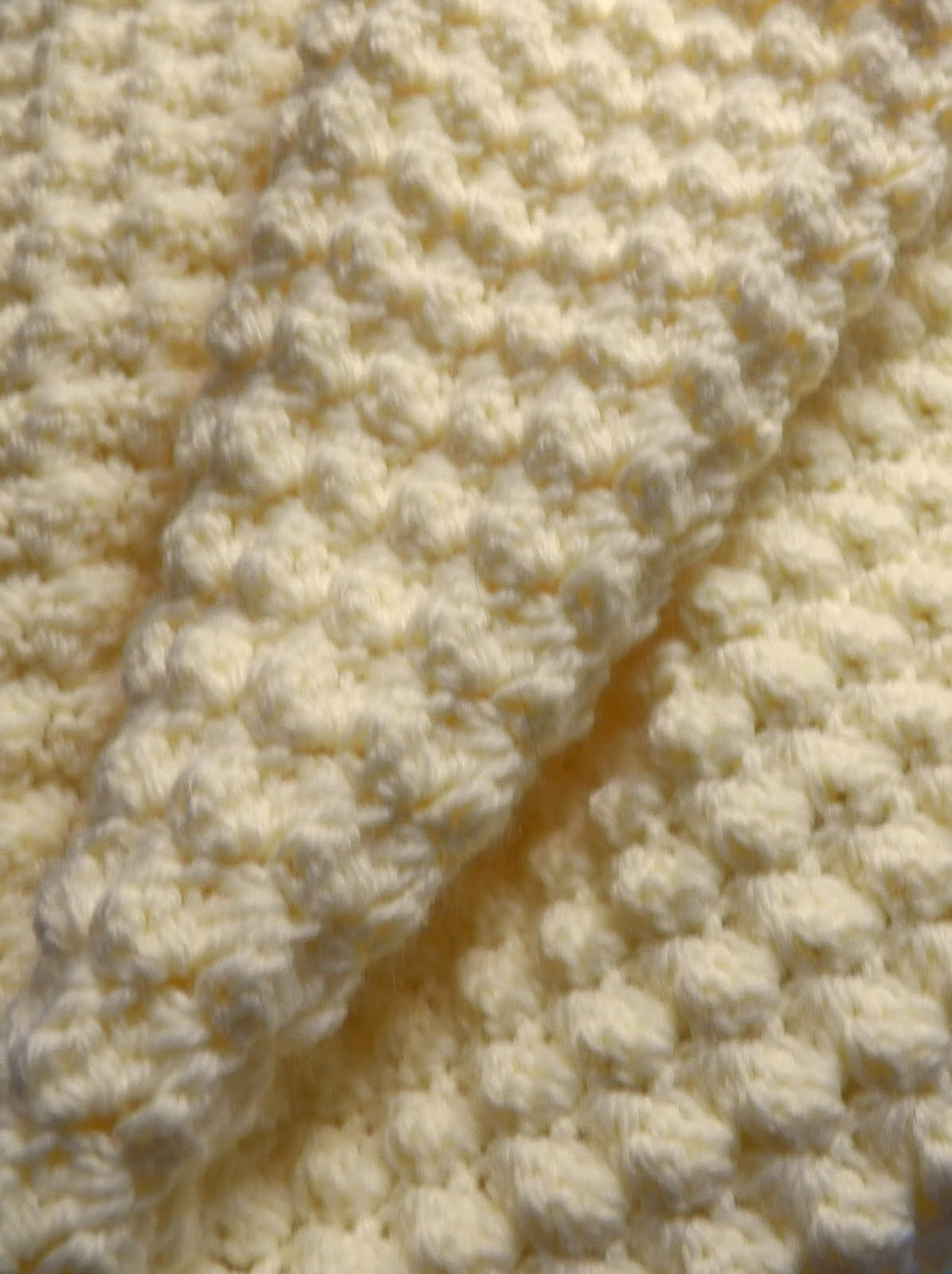 Knitting Pattern For Popcorn Baby Blanket : Crochet Attic: Three Crochet Tah Dahs!!!