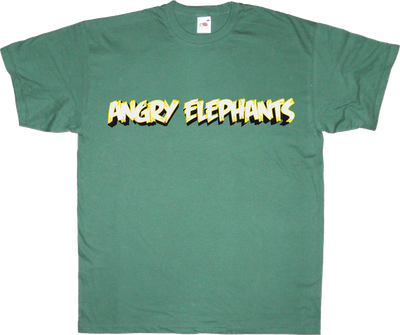 useless kingdoms elephant angry birds APM? Alguna Pregunta Més? t-shirt ephemeral-t-shirts