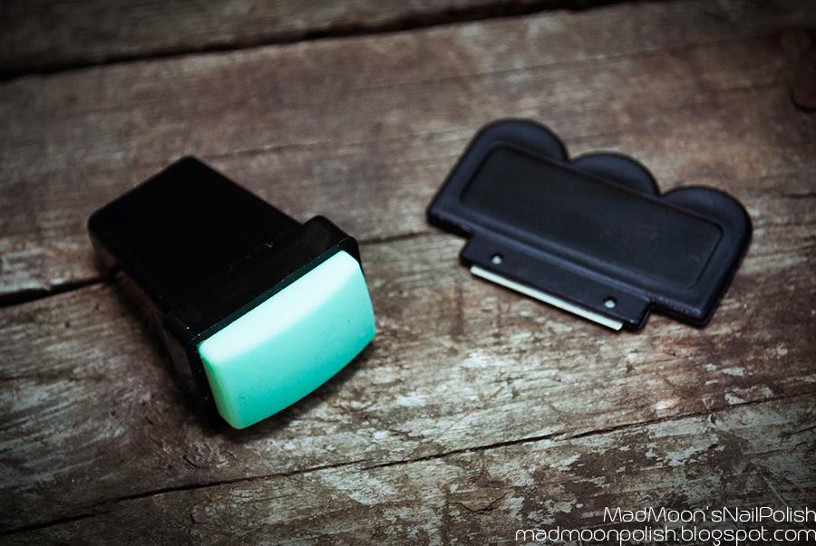 2Pcs/Set Practical Stamping Nail Art Stamper & Scraper