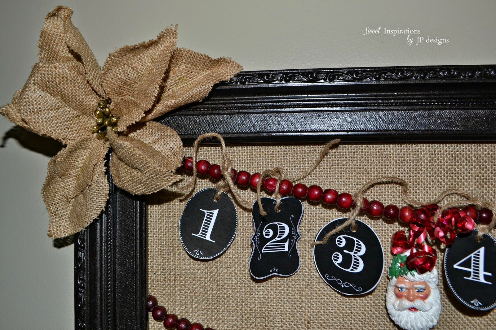Sweet Inspirations by JP designs: Christmas Countdown Frame with ...