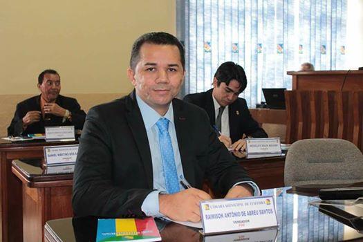 Vereador Raimissom Abreu