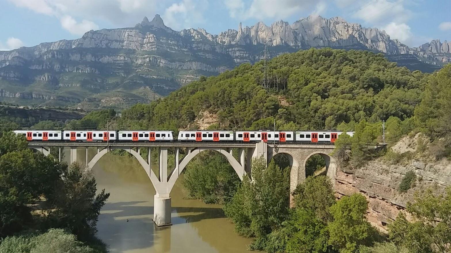 Línia Llobregat-Anoia dels FGC. Antonio Jiménez