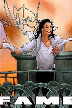 -MJ: Biografia em HQ relançada  Fame-Michael-Jackson