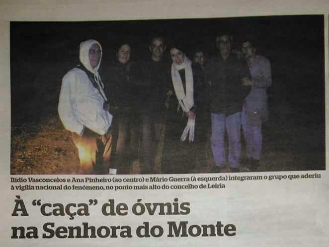 Vigília Nacional 2016 UFO Portugal