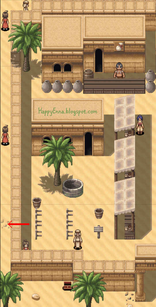 Adventure Bar Story - Secret Path in Desert City of Guid