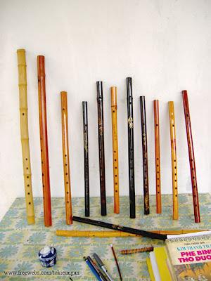 Các thiết bị khác, sáo trúc, sáo bầu, đàn tranh ...