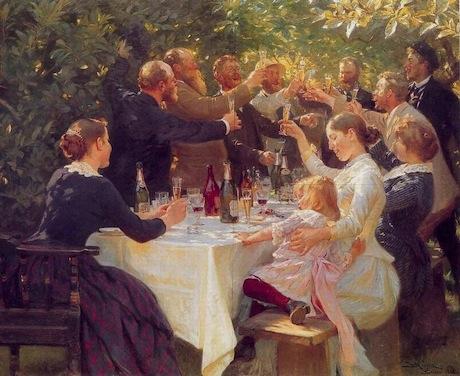 Art Talk - Foredrag om kunst: P.S. Krøyer: Hip, Hip, Hurra, 1886