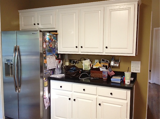 After all cabinets and walls painted mascarpone by benjamin moore