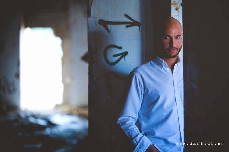 fotos en una fábrica abandonada Retrato Javi