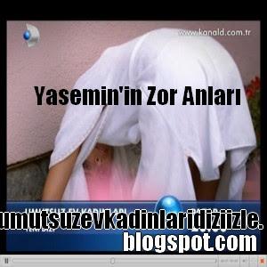 Yasemin Sinan'a Bahçede Yakalandı