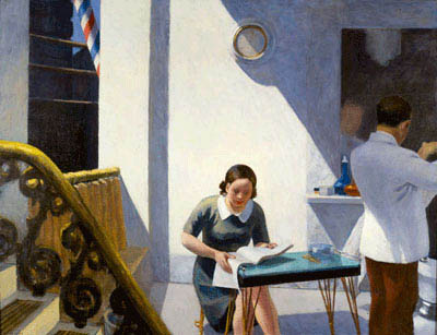 The Barber Shop, 1931, Edward Hopper