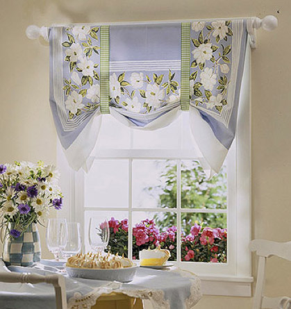 No Sew Kitchen Shade From Better Homes And Gardens