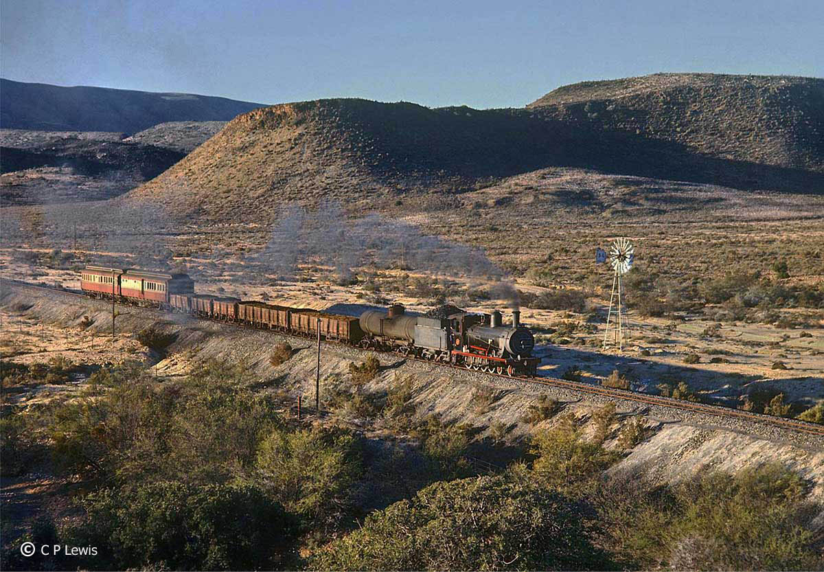Touws River South Africa  city photo : old STEAM LOCOMOTIVES in South Africa: Touws River Ladismith branch ...