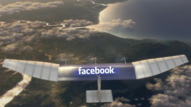 Facebook drones bring the Internet to remote areas