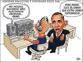 Estados Unidos espiona o Brasil