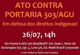 July 26 action against AGU Decree 303.