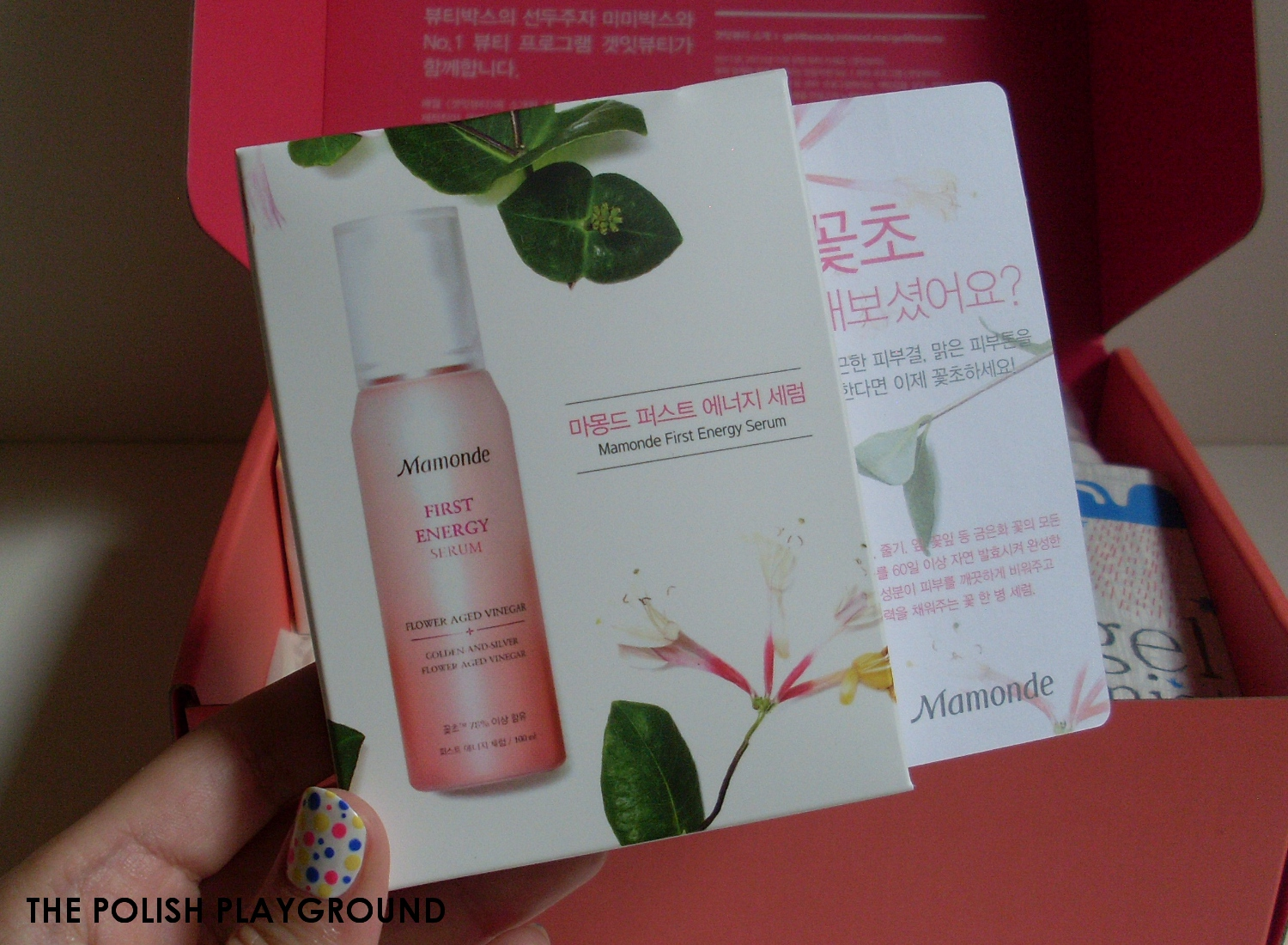 Memebox Luckybox #1 Unboxing and First Impressions - Mamonde First Energy Serum