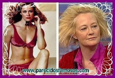 Cybill Shepherd antes y después