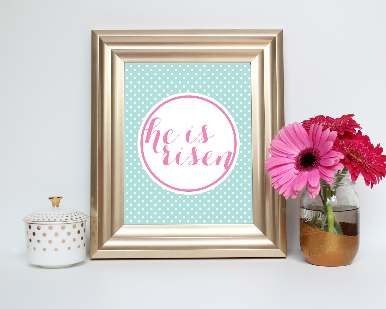 He is risen Printable by JM Print Shop