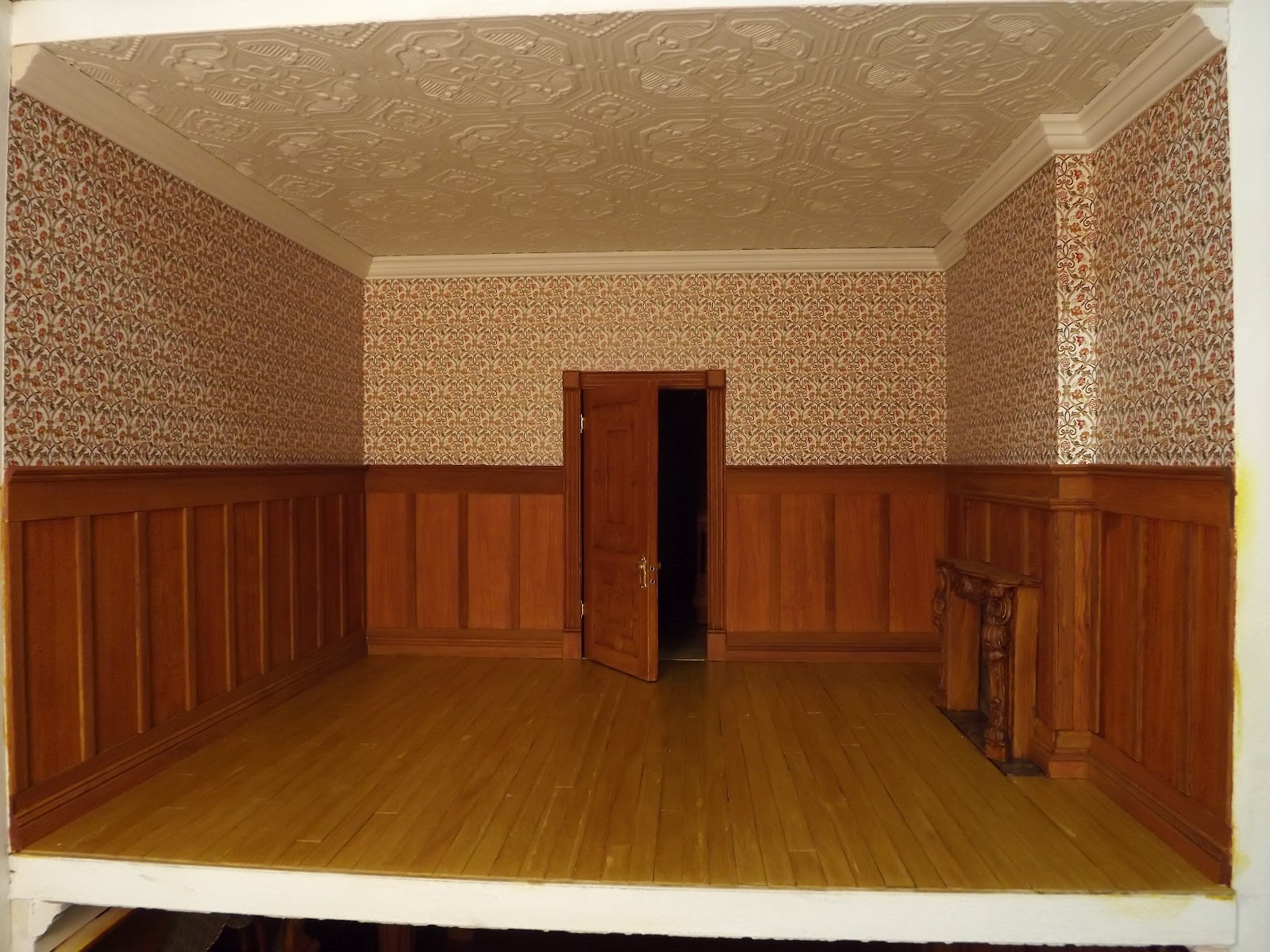 Late Victorian English Manor Dollhouse 1 12 Miniature From Scratch