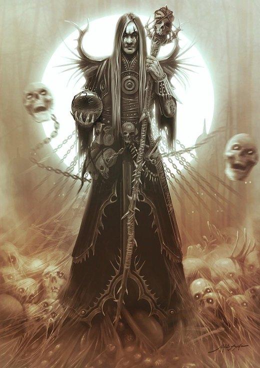 Necromancer por yigitkoroglu