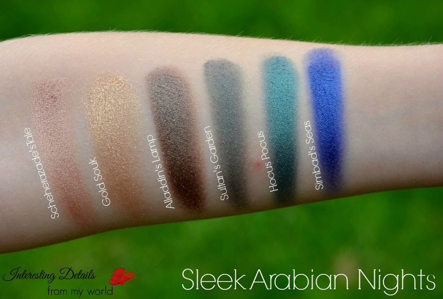 Arabian Nights Swatches