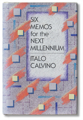 Italo Calvino, Six Memos for the Next Millenium, 1st edition dust jacket