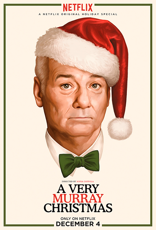 A very Murray Christmas, Netflix