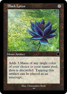 Black Lotus Magic Card