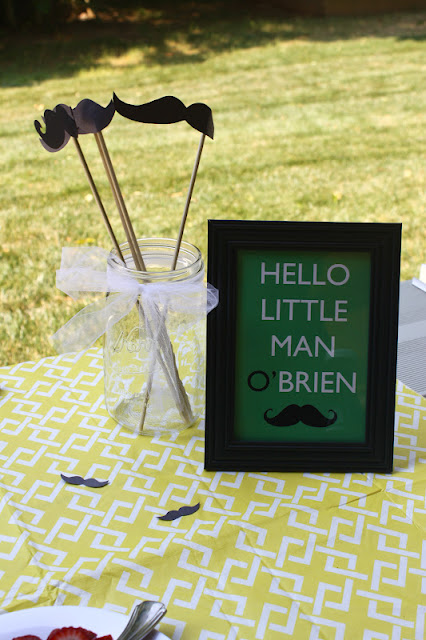 ever love design blog mustache bash little man themed baby shower