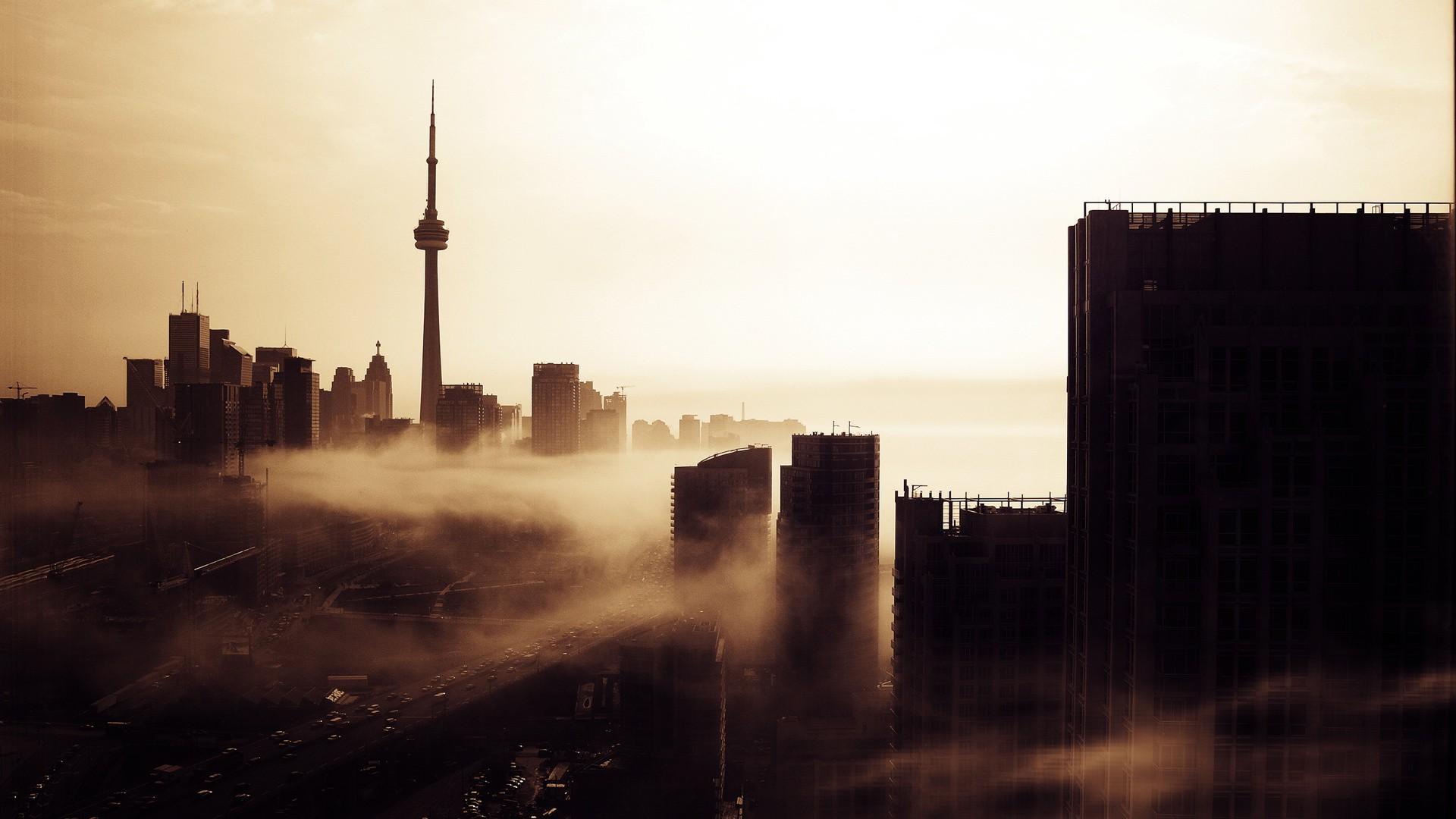 Must see Wallpaper Mac Toronto - Toronto-Evening-Skyline-1080  HD_222771.jpg