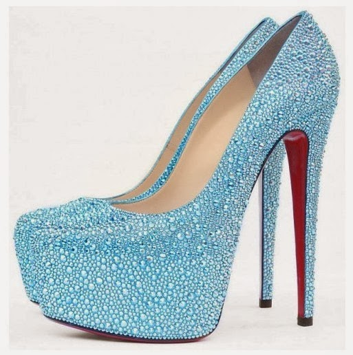 Light Blue Wedding Shoes By Designs