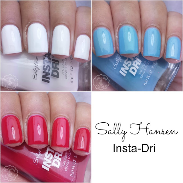 Sally Hansen Limited Edition Insta-Dri Swatches
