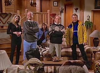 Frasier, Niles, Daphne, Annie, and Guy