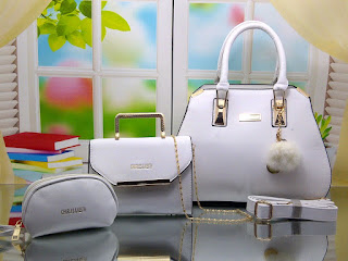 Tas Charles And Keith Baysater Set 3in1 335GC Jakarta