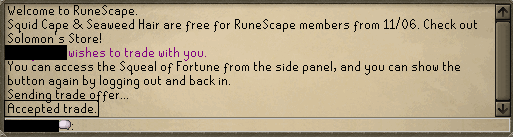 Runescape Screenshot Confirmation