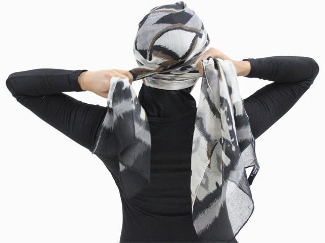 Tutorial Cara Memakai Jilbab Turban Sederhana . AL Zafirah - AL ...