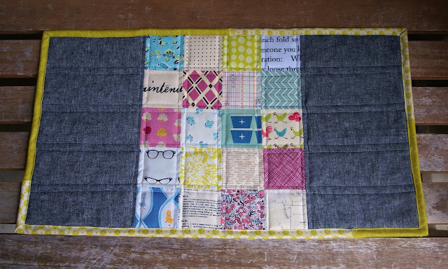 Spring Patchwork Table Runner