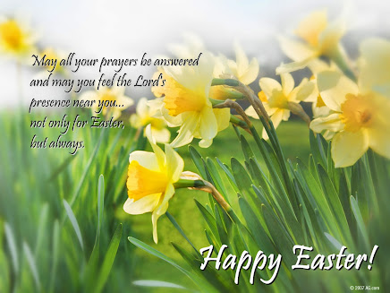 HAPPY EASTER to ALL.