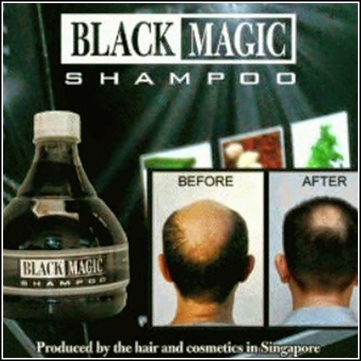 BLACK MAGIC KEMIRI SHAMPOO (shampoo herbal kemiri)