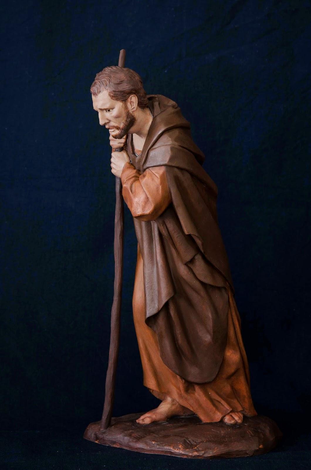 Belén presepe nativity krippe Arturo Serra escultura barro cocido 21