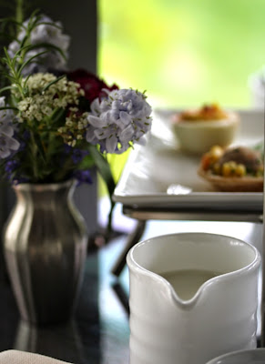 Afternoon tea at a B&B #tea #getaway