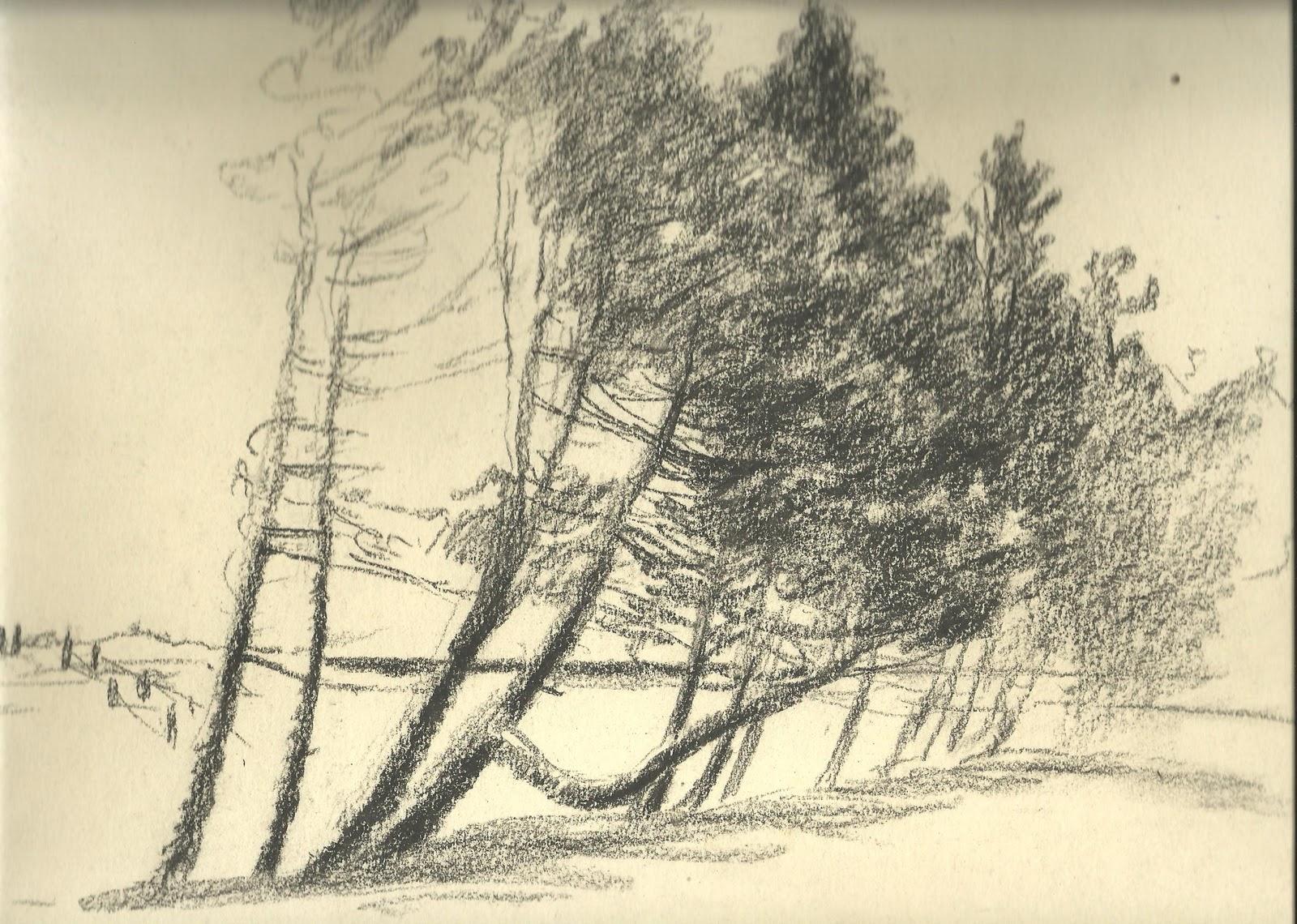 Kothe Skizzen Landschaft ca nach 1928