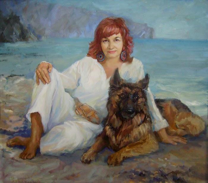 Талантливая украинская художница. Татьяна Синяева