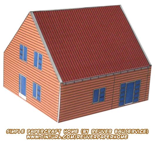 Ninjatoes 39 papercraft weblog d l simple papercraft home for Paper craft home