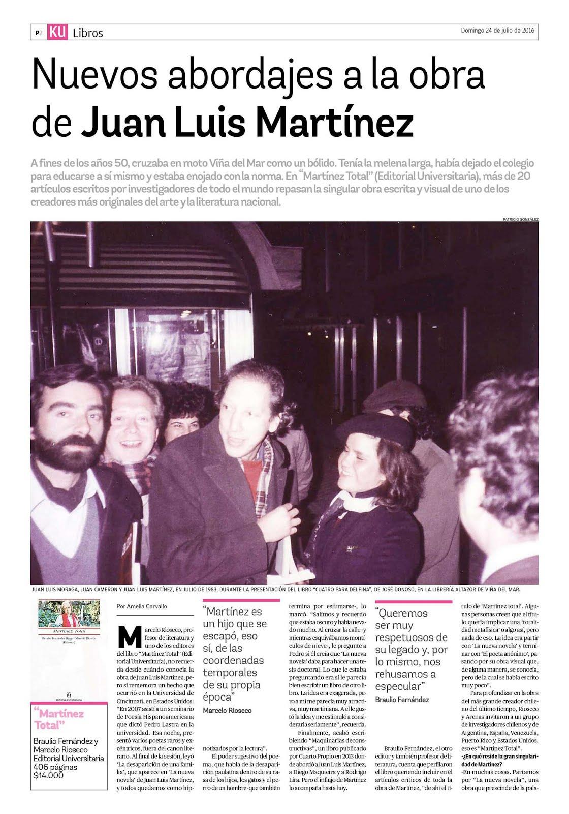 Martínez Total en los Mercurios regionales