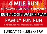 4 mile race in Rathmore on the Kerry-Cork border...Sun 12th July